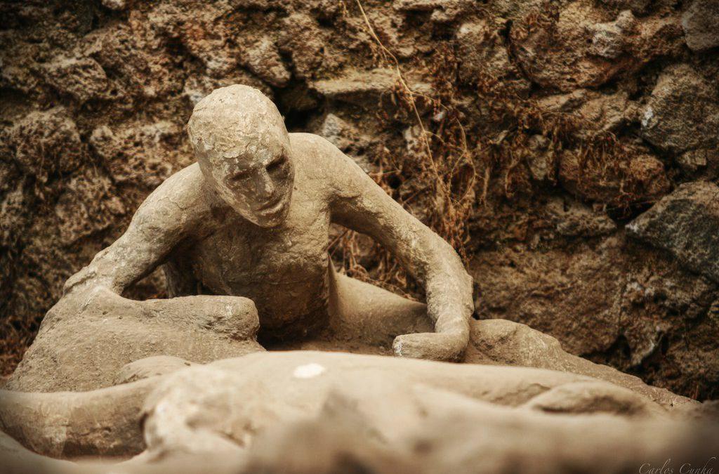 I corpi di Pompei in vita con la stampa 3D