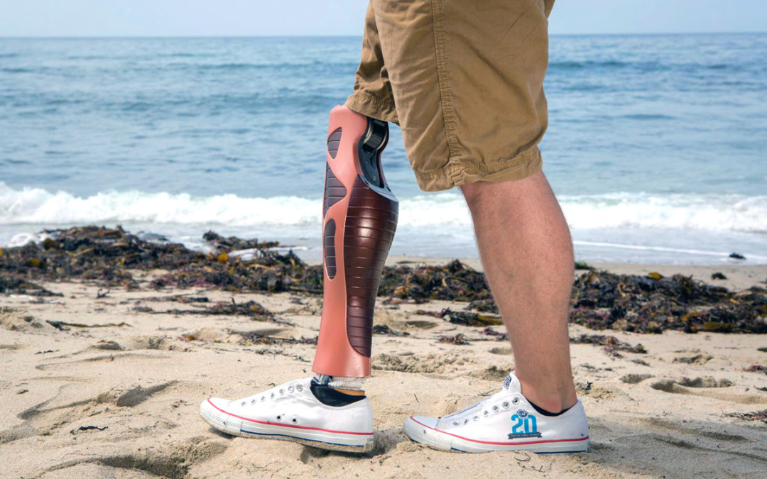 UNYQ & 3D Systems per protesi di gamba